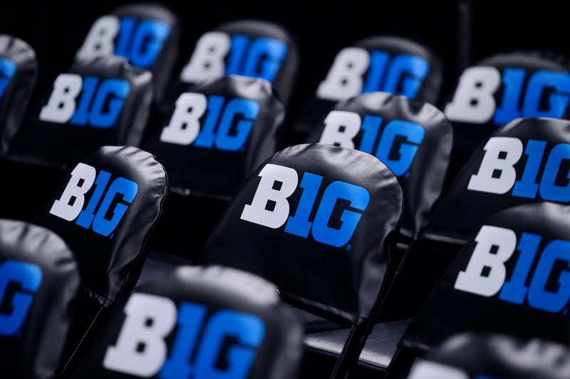 Empty seats at the now cancelled Big Ten Tournament