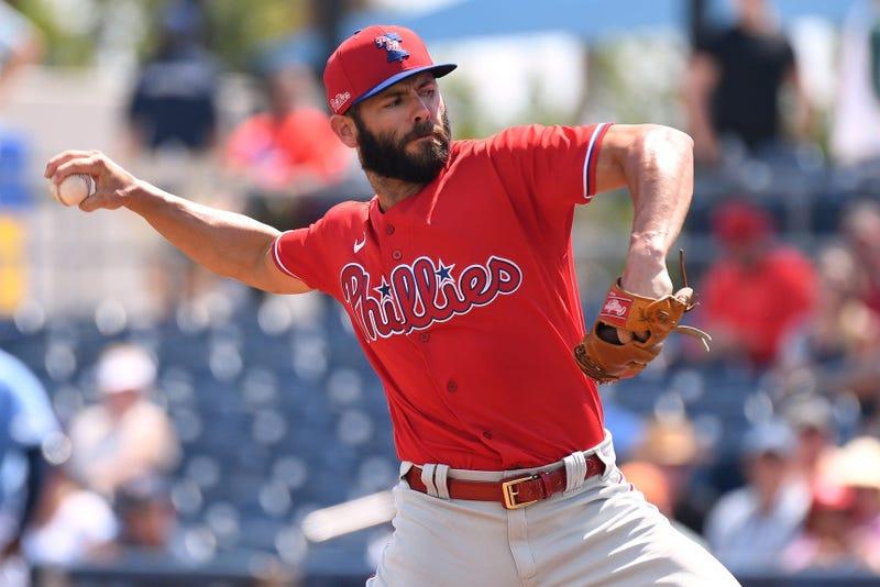 Philadelphia Phillies starting pitcher Jake Arrieta