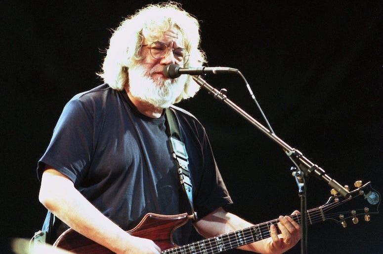 Grateful Dead, Jerry Garcia, Guitar, Concert, 1995