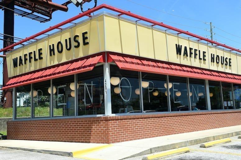 Waffle House, Restaurant, Exterior, Evans, Georgia