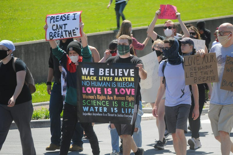 RVA Protestor