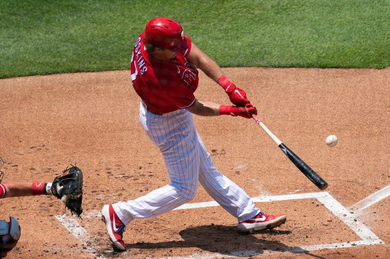 Philadelphia Phillies first baseman Rhys Hoskins