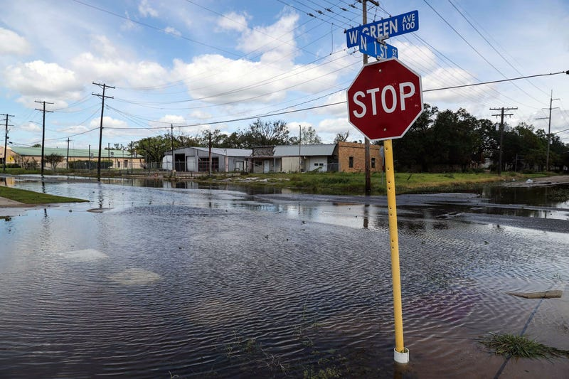 Hurricane Laura, Texas