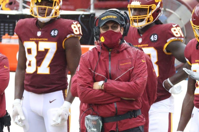 Ron Rivera Sideline
