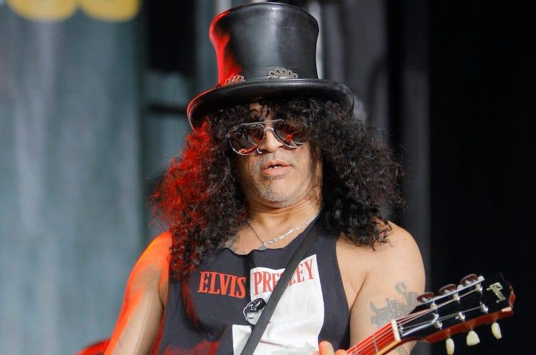 Slash, Guns N Roses, Pregame Concert, NFL, Concert, Guitar, 2010