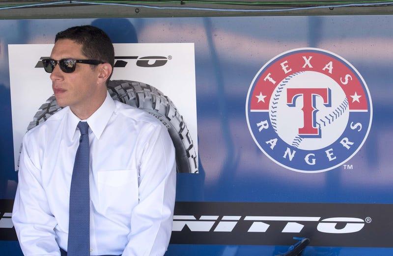 Texas Rangers general manager Jon Daniels