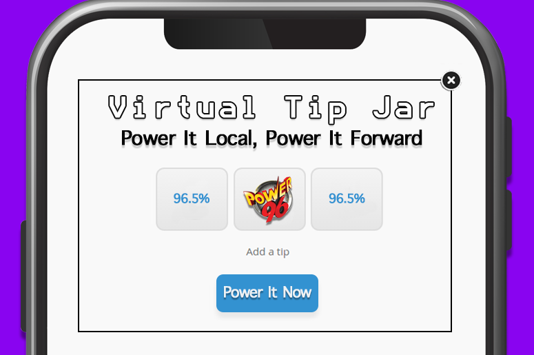 Virtual Tip Jar - Power It Local, Power It Forward