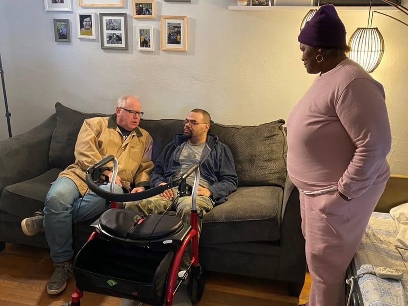 Walz, Jay Spika and Deb Howze