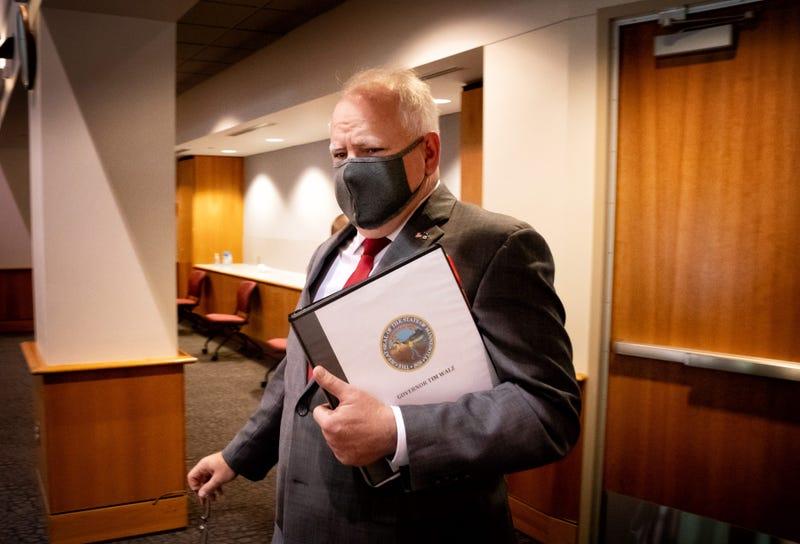 Tim Walz mask