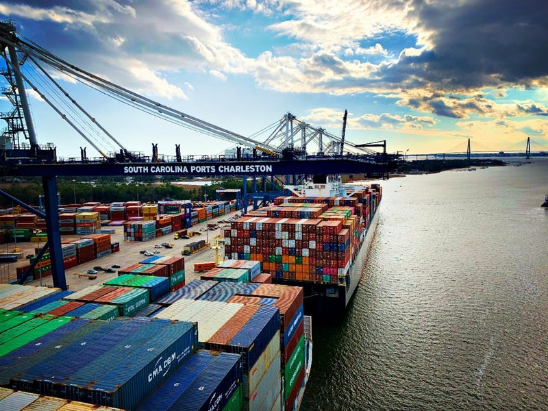 S.C. Ports made significant progress on infrastructure projects in 2019, including work on a new container terminal and harbor deepening.