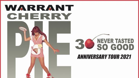 Warrant - Cherry Pie Tour