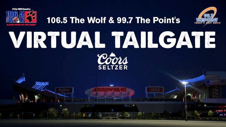 Coors Seltzer Presents: 106.5 The Wolf's Virtual Tailgate