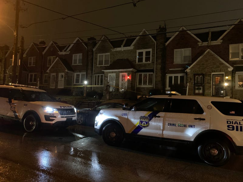 Police say a man is in custody for killing two of his relatives early Tuesday morning in West Oak Lane.