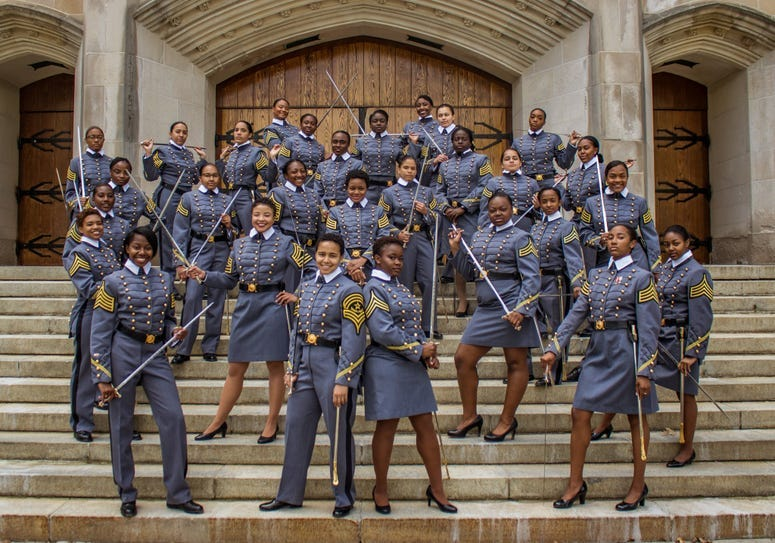 West Point graduates largest class of African American women in the history of the United States Military Academy