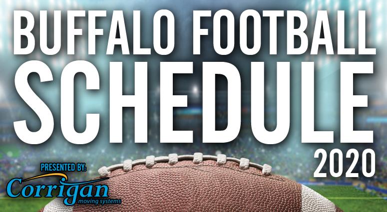 Buffalo Bills 2020 Schedule