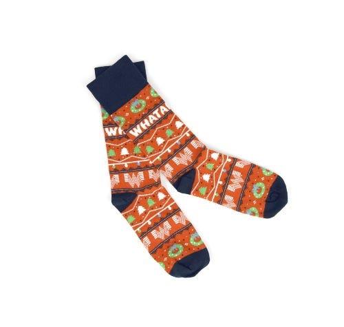 Whataburger Holiday Socks