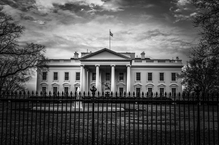 White House BW