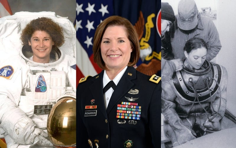 Susan Helms, Lt. Gen. Laura Richardson, Donna Tobias