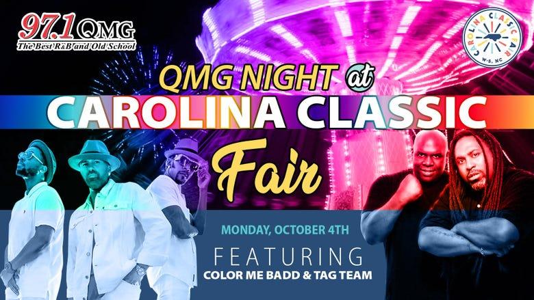 QMG Night at the Carolina Classic Fair