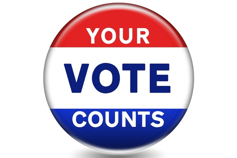 Your Vote Counts Button gguy44 Getty Image