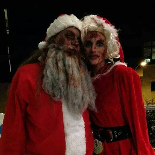 Z Claus and Ms Z 2014