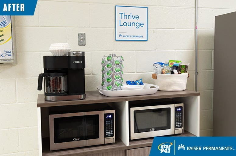 Kaiser Permanente Thrive Lounge