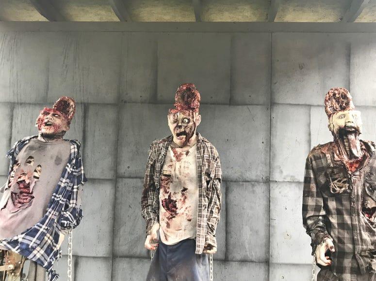 Zombies at MadWorld - Emily Gill