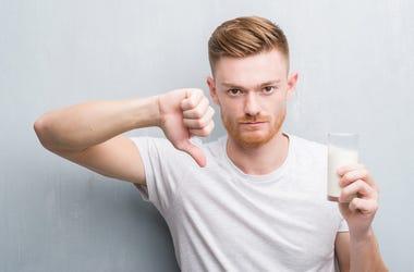 Man Hates Milk