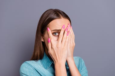 Embarrassed Woman