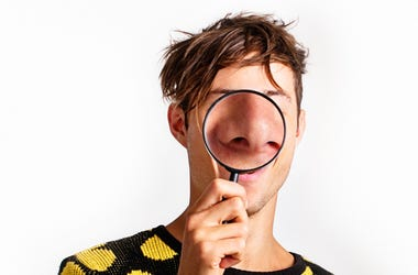Man with a Big Nose