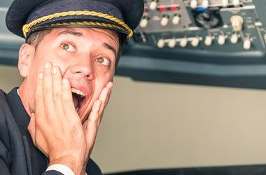 Scared Pilot