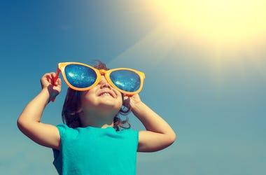 Toddler in the Sun