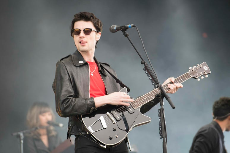 James Bay performs live at the Isle of Wight festival