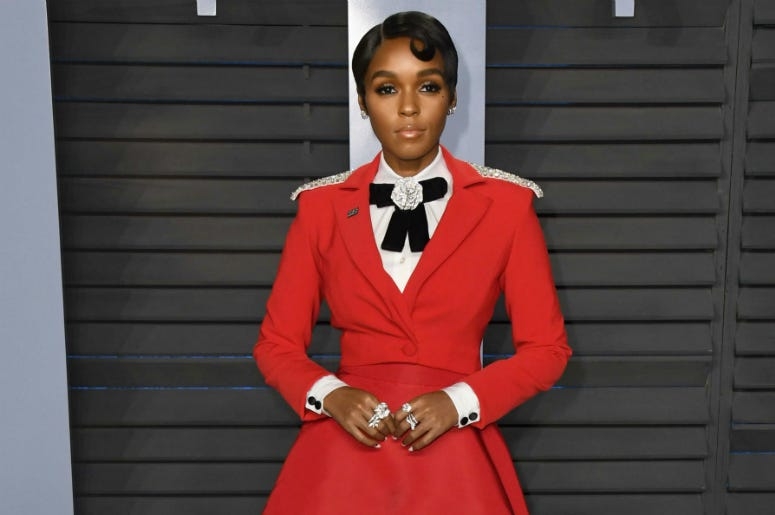 Janelle Monae. 2018 Vanity Fair Oscar Party following the 90th Academy Awards held at the Wallis Annenberg Center for the Performing Arts.