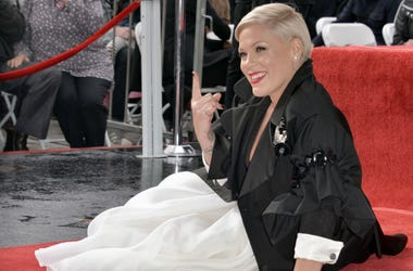 Pink reveals that she recently slashed her husband's tires