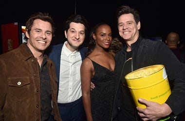 Jim Carrey, James Marsden, Tika Sumpter, Ben Schwartz