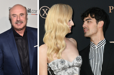 Dr. Phil and Sophie Turner and Joe Jonas