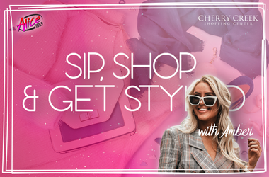 Sip, Shop and Get Styled with Amber!