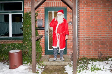Evicted Santa