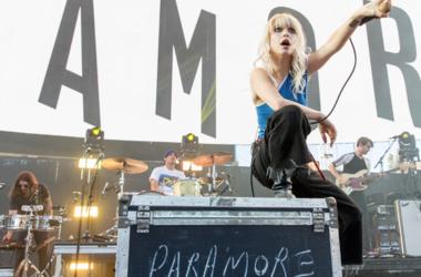 Hayley Williams of Paramore during KROQ Weenie Roast