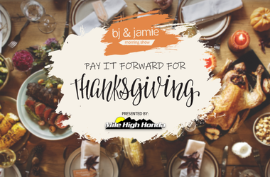 Pay It Forward For Thanksgiving