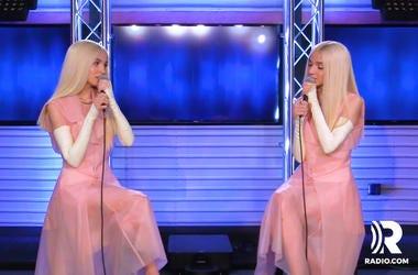 Poppy Exclusive Radio.com Radio dot com Radiodotcom interview. Doritos.