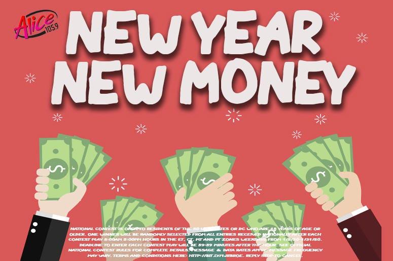 New Year - New Money!