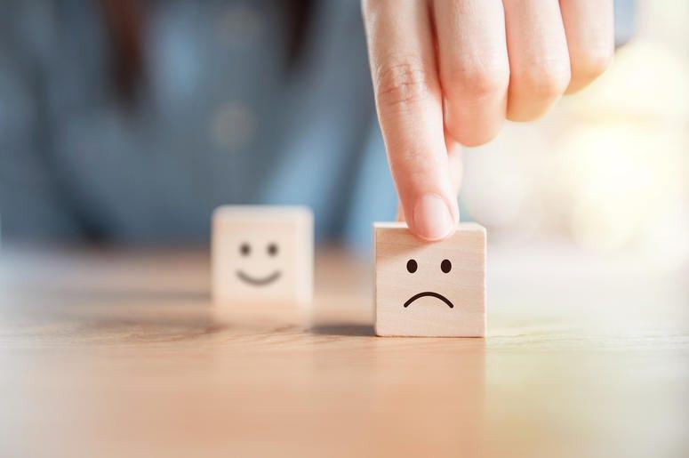 Sad Face Dice