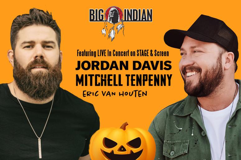 Jordan Davis, Mitchell Tenpenny & Eric Van Houten
