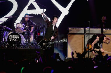 Green Day performs onstage at 106.7 KROQ Almost Acoustic Christmas 2016