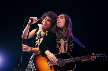 Greta Van Fleet perform on stage during the KROQ Absolut Almost Acoustic Christmas at The Forum on December 8, 2018