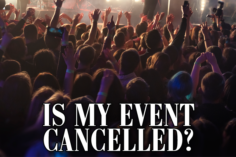 Is My Event Cancelled - Site Image