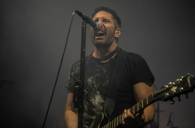 Nine Inch Nails launch their U.S. tour at Comerica Theatre in Phoenix on Sept. 13, 2018.