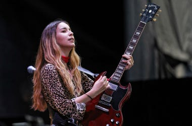 HAIM performs Bonnaroo